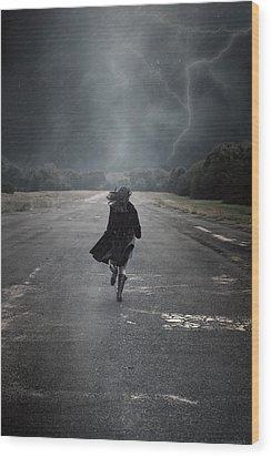 Escape Wood Print by Joana Kruse