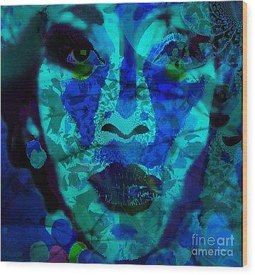 Eyes Of Nigeria - Genevieve Wood Print by Fania Simon