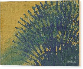 Fanfare Wood Print