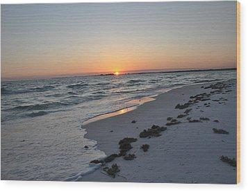 Florida Sunset Wood Print