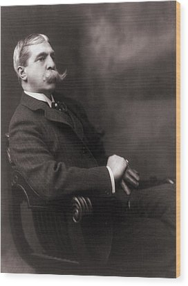 Francis Hopkinson Smith 1838-1915 Wood Print by Everett