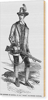 Francis Joseph I (1830-1916) Wood Print by Granger