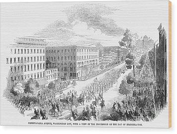 Franklin Pierce Wood Print by Granger