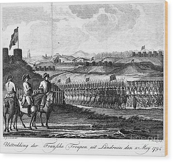 French Revolution, 1794 Wood Print by Granger