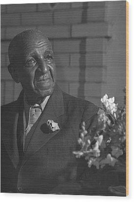 George Washington Carver 1864-1943 Wood Print by Everett