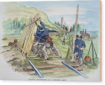 Georgia: Shermans March Wood Print by Granger