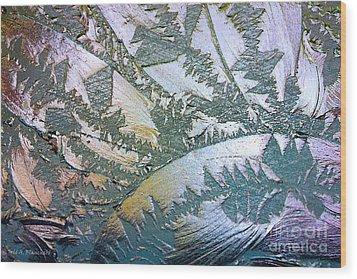 Glass Designs Wood Print