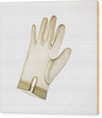 Glove Wood Print by Bernard Jaubert
