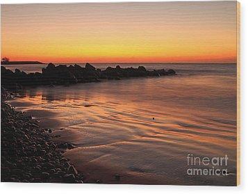Gran Canaria Sunrise  Wood Print by Pete Reynolds