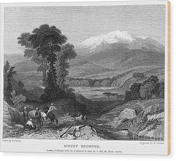 Greece: Mount Olympus Wood Print by Granger