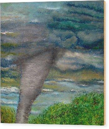 Green Skies Of Tennessee Wood Print