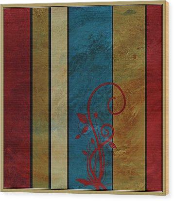 Growth Wood Print by Bonnie Bruno