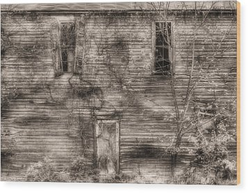 Haunting  Wood Print by JC Findley