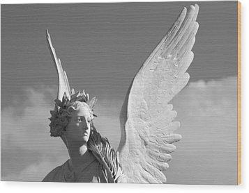 Heavenly Wood Print by Marc Huebner