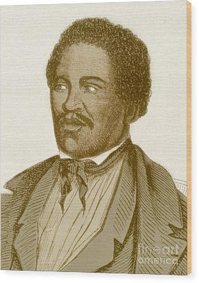 Henry Box Brown, African-american Wood Print by Photo Researchers