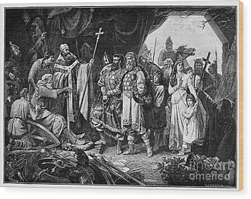 Henry I (876-936) Wood Print by Granger