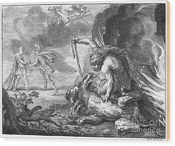 Hercules Wood Print by Granger