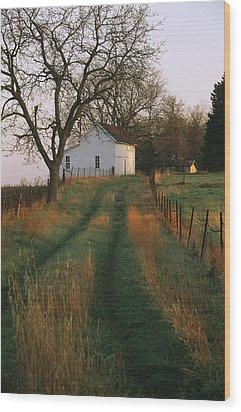 Historic Stevens Creek Farm Wood Print by Joel Sartore