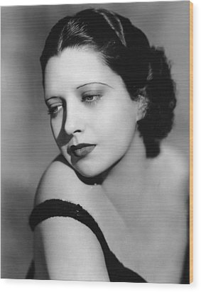 I Found Stella Parish, Kay Francis, 1935 Wood Print by Everett