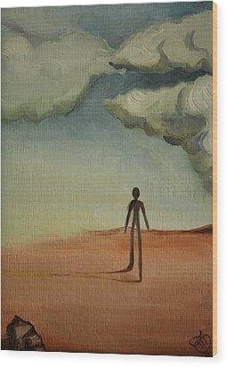 Il Cammino 2010 Wood Print by Simona  Mereu