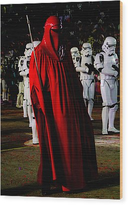 Imperial Red Guard Wood Print