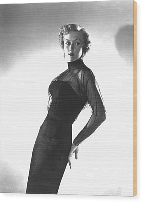 In A Lonely Place, Gloria Grahame Wood Print by Everett