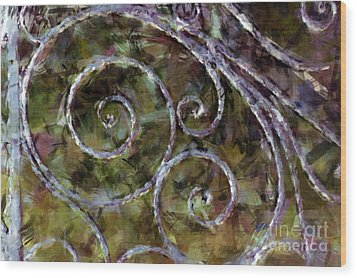 Iron Gate Wood Print