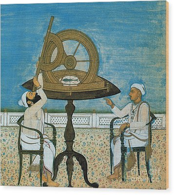 Islamic Astronomers Wood Print by Science Source