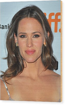Jennifer Garner At Arrivals For Butter Wood Print by Everett