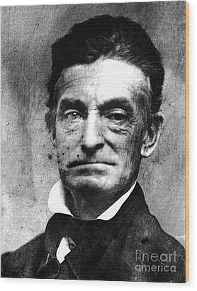John Brown (1800-1859) Wood Print by Granger