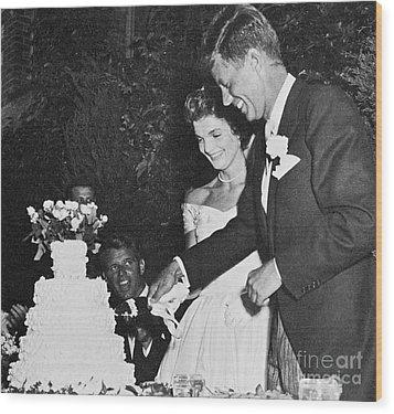 John F. Kennedy (1917-1963) Wood Print by Granger