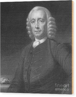 John Harrison, English Inventor Wood Print by Photo Researchers