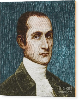 John Jay, American Founding Father Wood Print by Photo Researchers