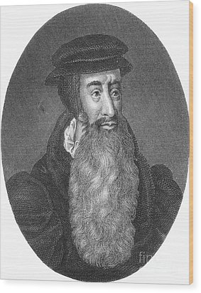 John Knox, Scottish Protestant Wood Print by Photo Researchers