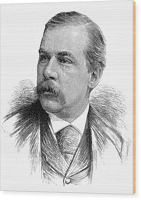 John Pierpont Morgan Wood Print by Granger