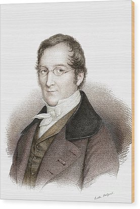Joseph Gay-lussac, French Chemist Wood Print by Science Source