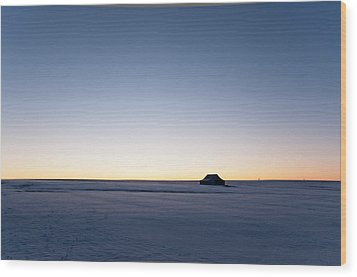 Wood Print featuring the photograph Just Before Sunrise by Monte Stevens