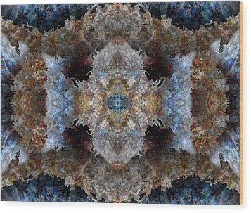 Kaleidoscope Wood Print by Christopher Gaston