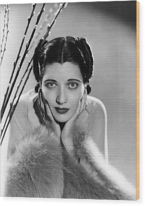 Kay Francis, Ca. Mid-1930s Wood Print by Everett
