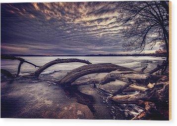 Lake Neatahwanta Wood Print by Everet Regal