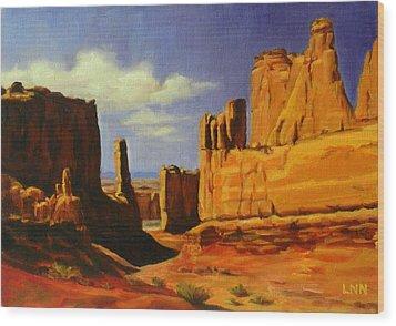 Lane Park  Utah Wood Print