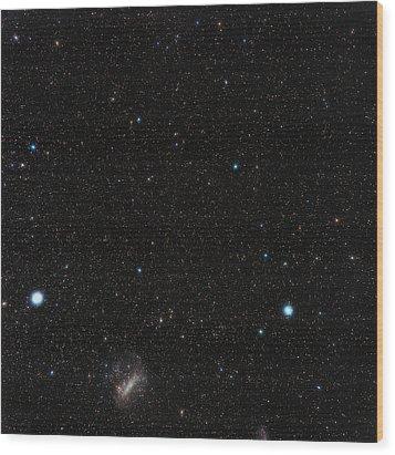 Large Magellanic Cloud Wood Print by Eckhard Slawik
