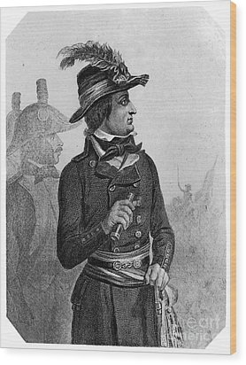 Lazare Carnot (1753-1823) Wood Print by Granger