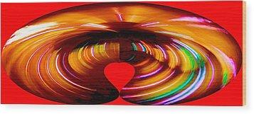 Love Wood Print by Carolyn Repka