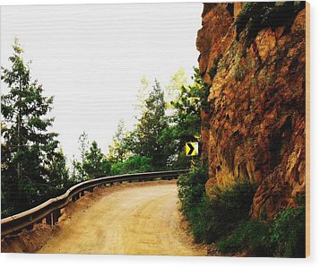Wood Print featuring the photograph Lower Gold Camp Road  by Clarice  Lakota
