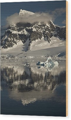 Luigi Peak Wiencke Island Antarctic Wood Print by Colin Monteath