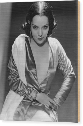 Lupe Velez, Ca. Early 1930s Wood Print by Everett