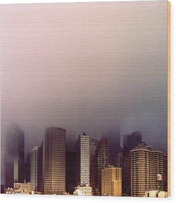 Manhattan Wood Print by Eli Maier