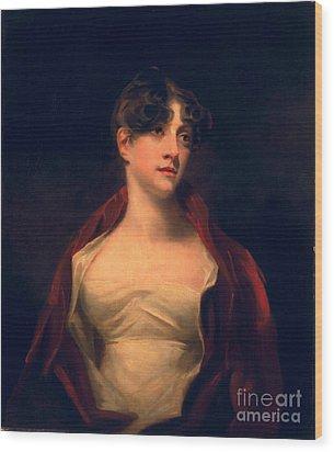 Margaret Moncrieff Wood Print by Sir Henry Raeburn