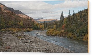 Wood Print featuring the photograph Marion Creek by Gary Rose